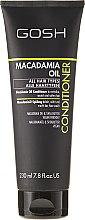 Parfémy, Parfumerie, kosmetika Kondicionér na vlasy - Gosh Macadamia Oil Conditioner