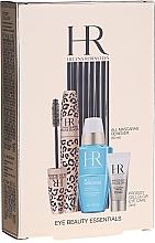 Parfémy, Parfumerie, kosmetika Sada - Helena Rubinstein Lash Queen Feline Blacks Mascara (mascara/7ml + lot/50 ml + eye/care/3ml)