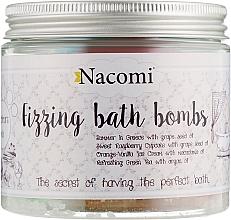 Parfémy, Parfumerie, kosmetika Sada bomb do koupele - Nacomi Mix Bath Bomb (bomb/4ks)