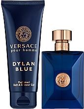 Parfémy, Parfumerie, kosmetika Versace Pour Homme Dylan Blue - Sada (edt/100ml + sh/gel/100ml)