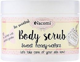 "Parfémy, Parfumerie, kosmetika Tělový peeling ""Sladké medové vafle"" - Nacomi Body Scrub Sweet Honey Wafers"