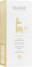 Parfémy, Parfumerie, kosmetika Dětský hydratační krém na obličej SPF 30 - Babe Laboratorios Facial Moisturizer SPF 30