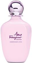 Parfémy, Parfumerie, kosmetika Salvatore Ferragamo Amo Ferragamo Flowerful - Tělový lotion se třpytkami