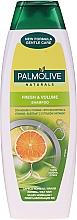 Šampon na vlasy - Palmolive Naturals Fresh & Volume Shampoo — foto N3