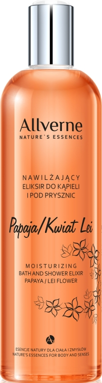 "Krém pro koupel a sprchu ""Papája a květina Lei"" - Allvernum Nature's Essences Cream Bath and Shower — foto N1"