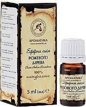 "Parfémy, Parfumerie, kosmetika Esenciální olej ""Z palisandru"" - Aromatika"