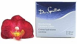 Parfémy, Parfumerie, kosmetika Hydratační pleťový krém s karotenem - Dr. Spiller Moisturizing Carotene Cream