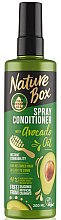 Parfémy, Parfumerie, kosmetika Sprej-kondicionér na vlasy - Nature Box Avocado Oil Spray Conditioner