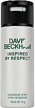 Parfémy, Parfumerie, kosmetika David Beckham Inspired by Respect - Aerosolový deodorant