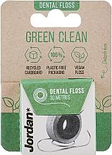 Parfémy, Parfumerie, kosmetika Dentální nit, 30 m - Jordan Green Clean Dental Floss