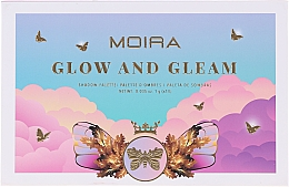 Parfémy, Parfumerie, kosmetika Paletka očních stínů - Moira Glow And Gleam Shadow Palette