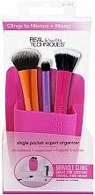 Parfémy, Parfumerie, kosmetika Organizér na štětce, růžový - Real Techniques Single Pocket Expert Beauty Organizer Pink