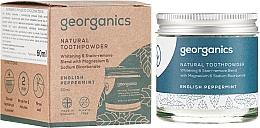 Parfémy, Parfumerie, kosmetika Přírodní zubní prášek - Georganics English Peppermint Natural Toothpowder