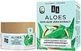Parfémy, Parfumerie, kosmetika Výživný a hydratační krém s aloe - AA Aloe Vera Extract