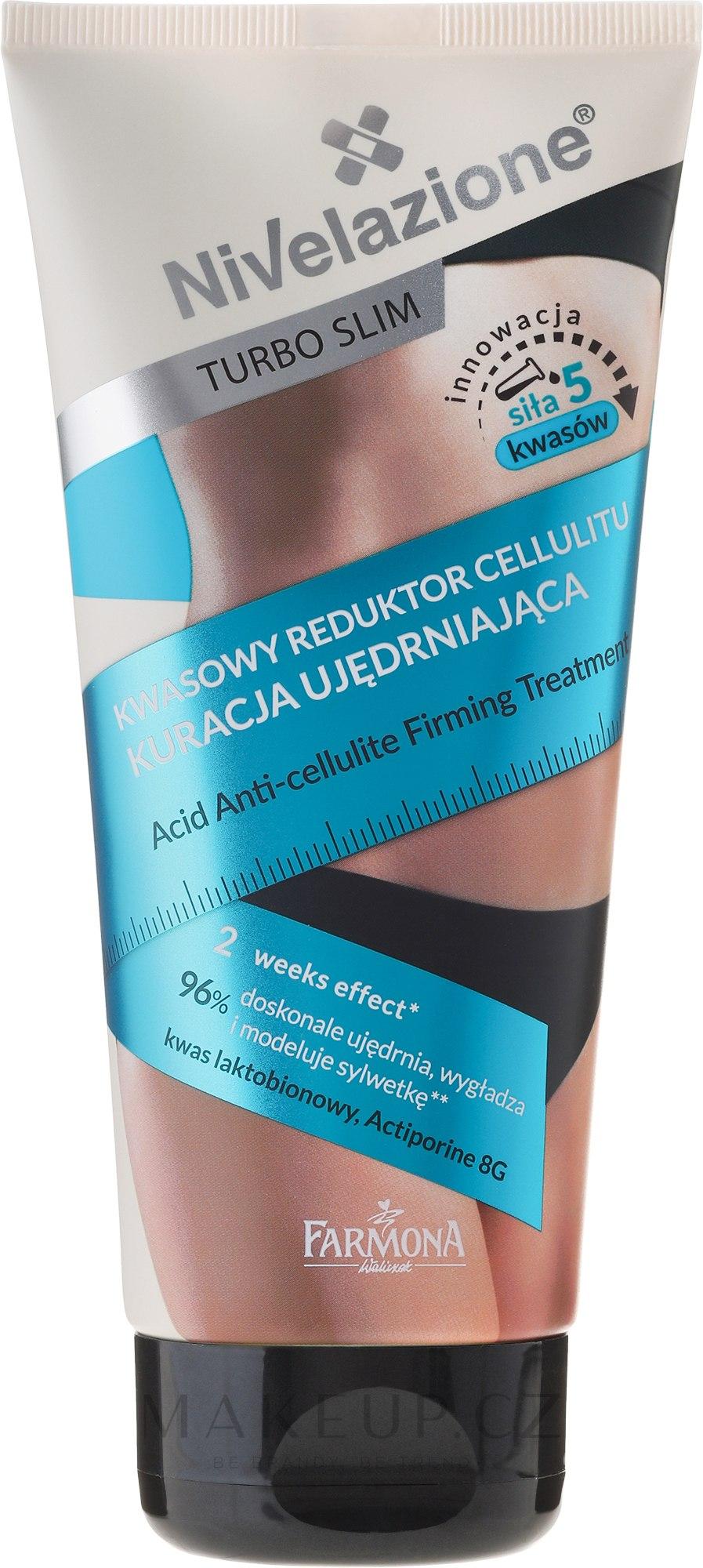 Výživné ošetření proti striím a celulitidě - Farmona Nivelazione Turbo Slim — foto 200 ml