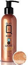 Parfémy, Parfumerie, kosmetika Samoopalovací balzám-fluid pro přírodní opálení - Silcare Quin Fluid BB 1 Body Shine Light