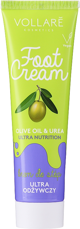Krém na nohy - Vollare Cosmetics De Luxe Ultra Nutrition Oile&Urea Foot Cream