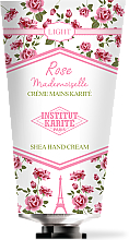 Parfémy, Parfumerie, kosmetika Krém na ruce - Institut Karite Rose Mademoiselle Light Shea Hand Cream