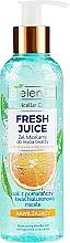 Parfémy, Parfumerie, kosmetika Hydratační micelární gel Pomeranč - Bielenda Fresh Juice Micellar Gel Orange