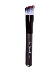 Parfémy, Parfumerie, kosmetika Šikmý štětec na make-up, 16 cm - Lila Rosa Brown