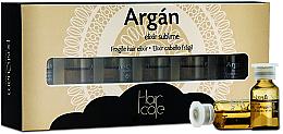 Parfémy, Parfumerie, kosmetika Arganový elixír v ampulích - PostQuam Argan Fragile Hair Elixir