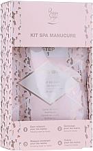 Parfémy, Parfumerie, kosmetika Sada - Peggy Sage Spa Manucure Kit (bath/caviar/20g + peeling/gel/15ml + h/masque/15ml + h/cr/15ml)