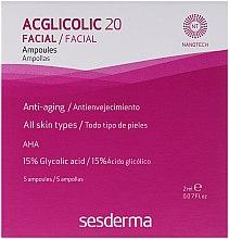 Parfémy, Parfumerie, kosmetika Ampule komplexního působení s kyselinou glykolovou - SesDerma Laboratories Acglicolic 20 Ampoules