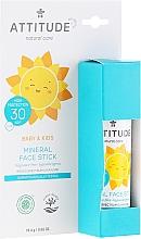 Parfémy, Parfumerie, kosmetika Opalovací tyčinka pro obličej - Attitude Mineral Face Stick SPF 30