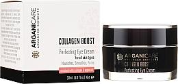Parfémy, Parfumerie, kosmetika Oční krém proti vráskám - Arganicare Collagen Boost Perfecting Eye Cream