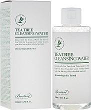 Parfémy, Parfumerie, kosmetika Čisticí pleťová voda s čajovým dřevem - Benton Tea Tree Cleansing Water