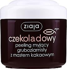 """Parfémy, Parfumerie, kosmetika Hrubozrnný tělový peeling """"Kakaový olej"""" - Ziaja Body Peeling"""