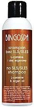 Parfémy, Parfumerie, kosmetika Šampon bez slz, bez sulfátů s arganovým olejem - BingoSpa Shampoo Without SLES / SLS with Argan Oil