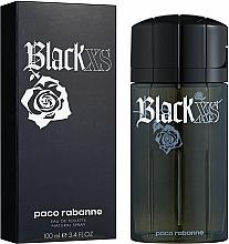 Paco Rabanne Black XS - Toaletní voda — foto N2