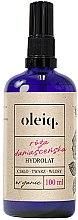 Parfémy, Parfumerie, kosmetika Hydrolát z růže damašské na obličej, tělo a vlasy - Oleiq Damask Rose Hydrolat