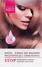 """Parfémy, Parfumerie, kosmetika Lékařská maska na vlasy """"Obnova a regenerace"""" - Czyste Piękno"""