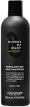 Parfémy, Parfumerie, kosmetika Balanční šampon, bezsulfátový - Alfaparf Milano Blends Of Many Rebalancing Low Shampoo