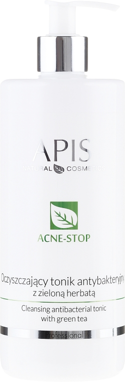 Pleťové tonikum s extraktem ze zeleného čaje - APIS Professional Cleansing Antibacterial Tonic
