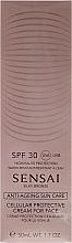 Parfémy, Parfumerie, kosmetika Opalovací krém na obličej SPF30 - Kanebo Sensai Cellular Protective Cream For Face