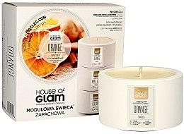 Parfémy, Parfumerie, kosmetika Aromatická svíčka - House of Glam Orange Spices Candle