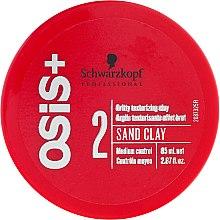 Parfémy, Parfumerie, kosmetika Pasta-hlína pro modelování účesů - Schwarzkopf Professional Osis+ Texture Sand Clay