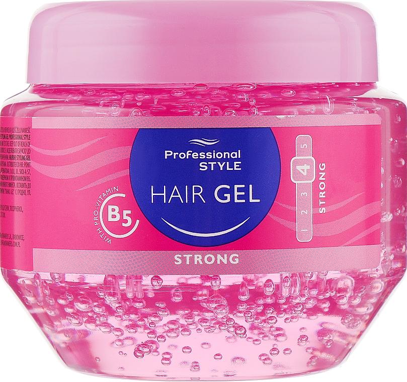 Gel pro úpravu vlasů - Professional Style Hair Gel Strong