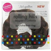 Parfémy, Parfumerie, kosmetika Gumička do vlasů, hnědá - Rolling Hills Scrunchie Hair Rings Brown
