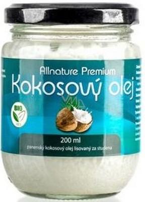 Kokosový olej - Allnature Premium Bio Coconut Oil — foto N3