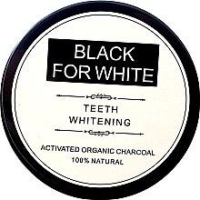Parfémy, Parfumerie, kosmetika Bělící zubní prášek s aktivním uhlím - Biomika Black For White Teeth Whitening
