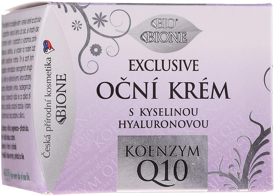 Oční krém - Bione Cosmetics Exclusive Organic Eye Cream With Q10