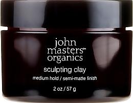 Parfémy, Parfumerie, kosmetika Stylingová hlina na vlasy s matujícím efektem - John Masters Organics Sculpting Clay Medium Hold Matte Finish