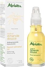 Parfémy, Parfumerie, kosmetika Sladký mandlový olej na obličej - Melvita Huiles De Beaute Sweet Almond Oil
