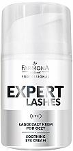 Parfémy, Parfumerie, kosmetika Zklidňující oční krém - Farmona Professional Expert Lashes Soothing Eye Cream