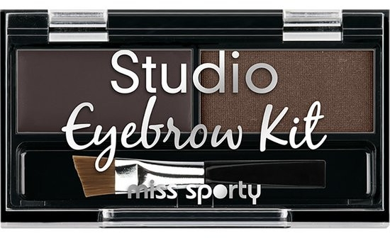 Sada stínů na obočí - Miss Sporty Studio Eyebrow Kit (2.4 g)