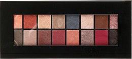 Parfémy, Parfumerie, kosmetika Paleta očních stínů, 16 odstínů - Aden Cosmetics Eyeshadow Palette